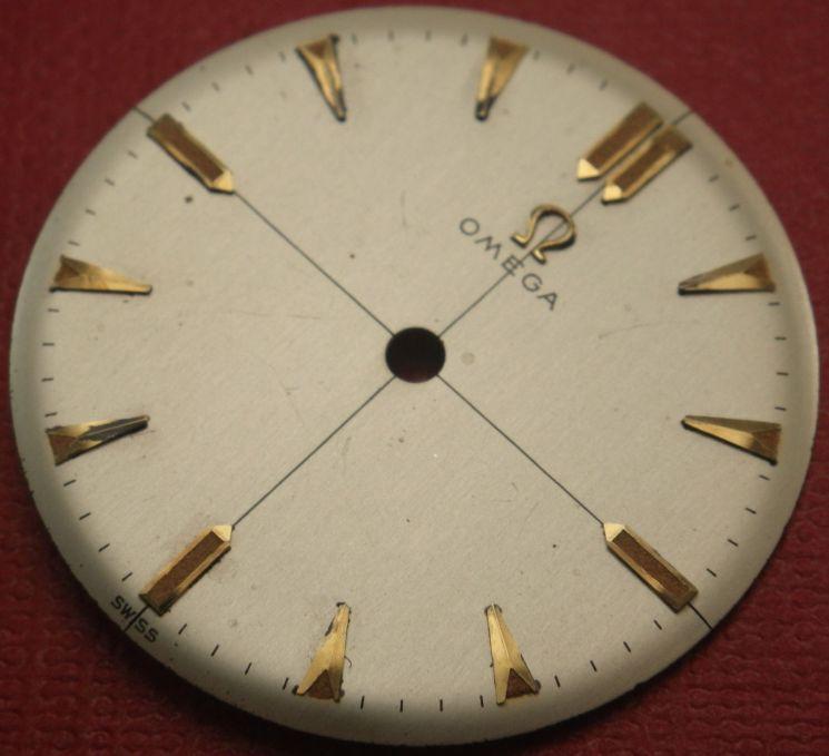 Vintage Omega dial