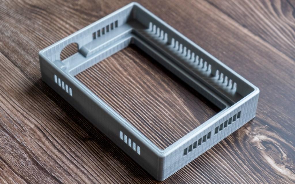 3D-printed lightbox model for a Raleno PLV-S104 video light