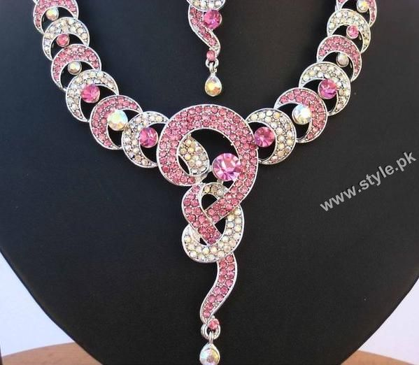American Diamond And Kundan Necklace Sets For Women By India Jewels