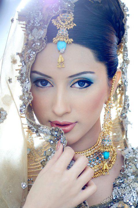 Khawar Riaz Bridal Makeup Photoshoot