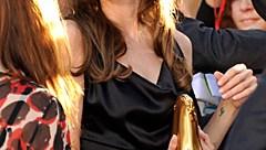 Angelina Jolie HandCuffs Clutch Bag in Toronto