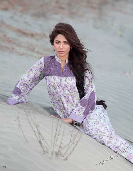 Gul Ahmed Cambric Collection 2011 For Women (12)