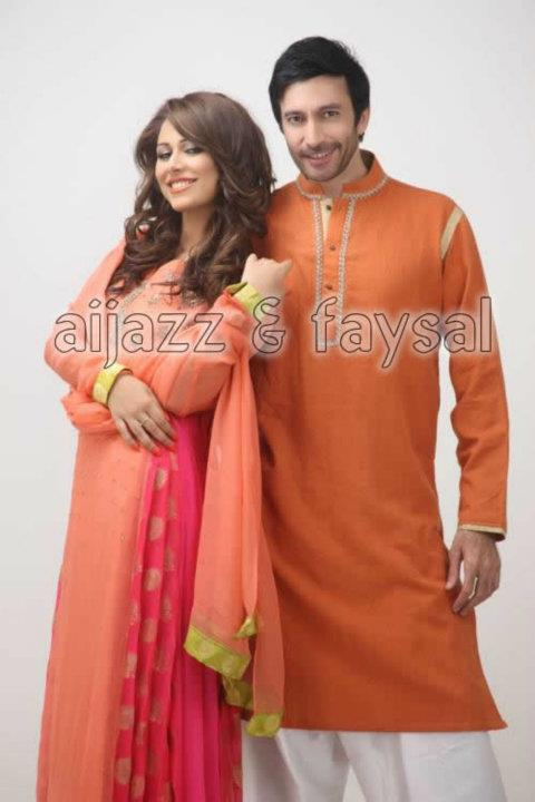 Aijaz Aslam Latest Fall Eid Collection For Men Women