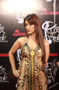 Shehla Chatoor's Latest Collection in Lux Style Awards (3)