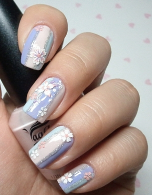 Chic Look Nail Art Ideas for Winter Holidays 2011_06