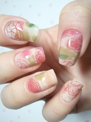 Chic Look Nail Art Ideas for Winter Holidays 2011_07