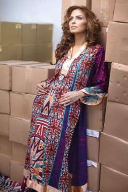 Firdous Linen Collection for Winter 2012 by Firdous Fashion f