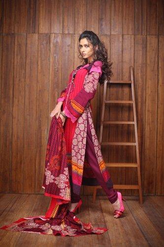 Firdous Linen Collection for Winter 2012 by Firdous Fashion q