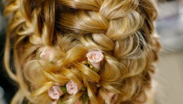 The Braided Bun hair styles