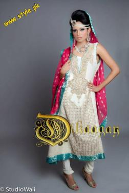 Latest Dhaagay Semi-Formal Wear Collection For Summer 2012-005