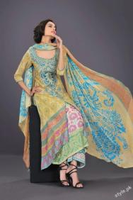 Latest HSY Lawn Prints 2012 - Complete Collection 14