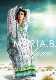 Latest Maria B Lawn 2012 - Complete Collection 9
