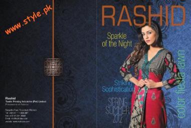 Latest Rashid Textiles Lawn Dresses For Summer 2012-007