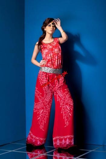 Mahnoush Summer Lawn Collection For Women 2012-002