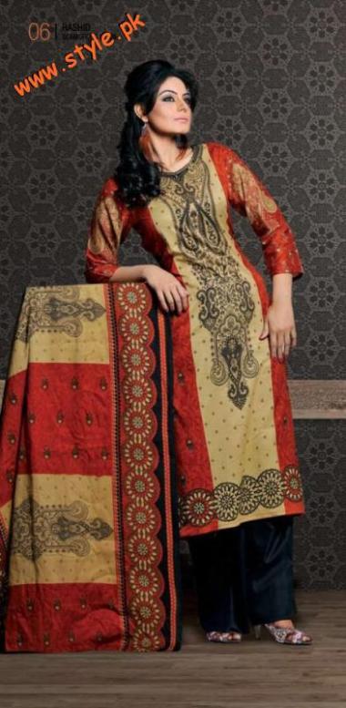 Rashid Lawn For Summer 2012 By Rashid Textiles-001