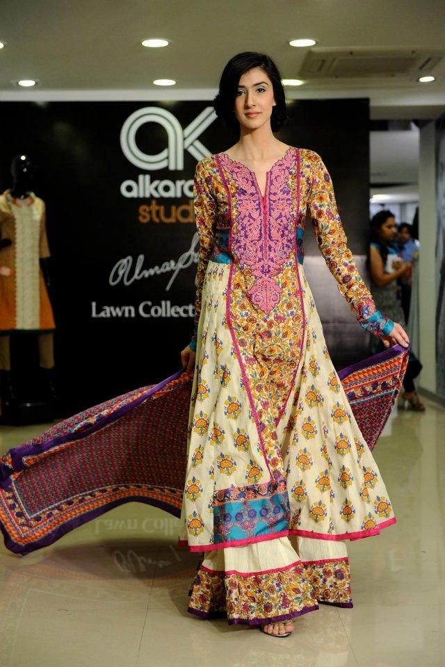 Umar Sayeed Lawn Collection 2012 by Al Karam 004