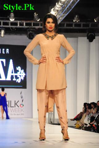 Latest Azza Party Wear Collection 2012 For Summer-008