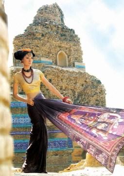 Resham Ghar Sarees Collection 2012 001