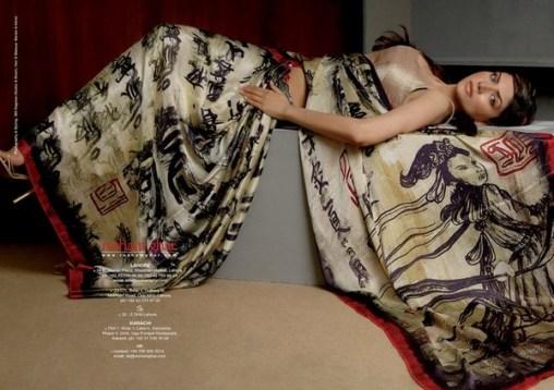 Resham Ghar Sarees Collection 2012 004