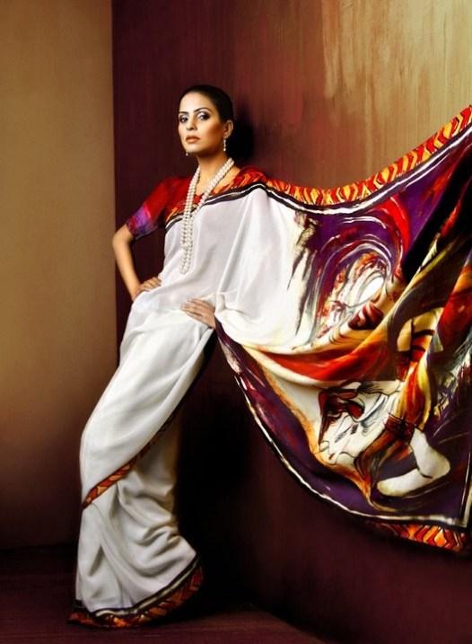 Resham Ghar Sarees Collection 2012 010