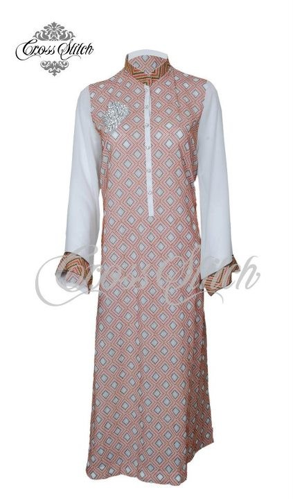 Cross Stitch Embroidered Chiffon Collection 2012 New Arrivals