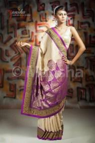 Eid-ul-Fitre 2012 Designer Saree Collection by Mansha004