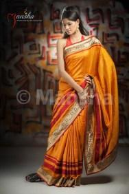 Eid-ul-Fitre 2012 Designer Saree Collection by Mansha008