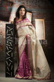 Eid-ul-Fitre 2012 Designer Saree Collection by Mansha011