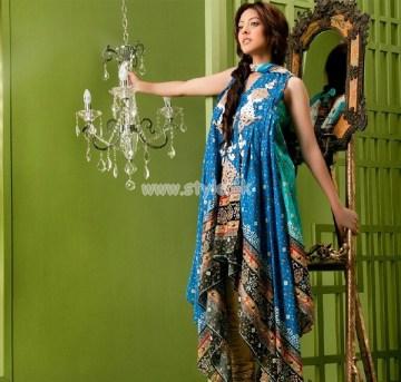 Ayesha Somaya Latest Summer Lawn Collection 2012 007