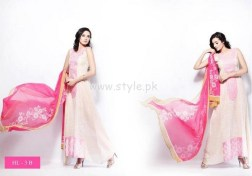 Hira Lari By Afroze Textiles Dresses For Eid 2012 003