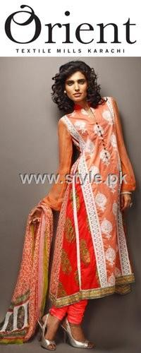 Orient Textiles 2012 Eid Lawn Prints Collection