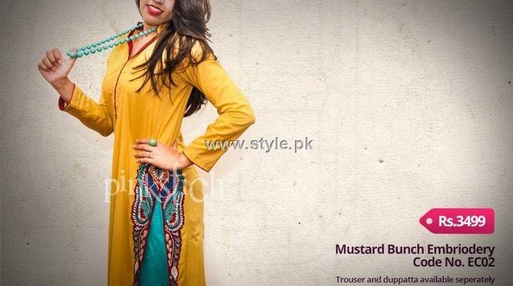 Pinkstich Eid Collection 2012 Outfits for Girls