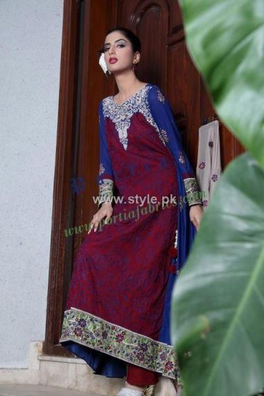 Portia Embroidered Collection 2012 Volume 1 002