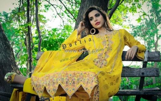 Portia Embroidered Collection 2012 Volume 1 003