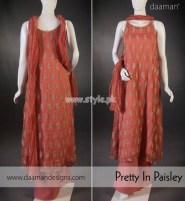 Daaman Latest Eid-Ul-Fitr 2012 Dresses For Girls 011