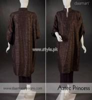 Daaman Latest Eid-Ul-Fitr 2012 Dresses For Girls 012