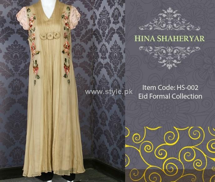 Hina Shaheryar Eid Collection 2012 for Women