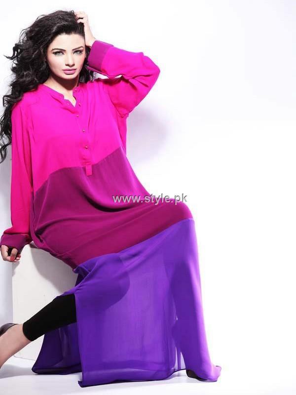 Rabiya Mumtaz Color Blocked Collection 2012 for Women