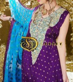 Dhaagay Eid Dresses 2012 for Women by Madiha Malik 007
