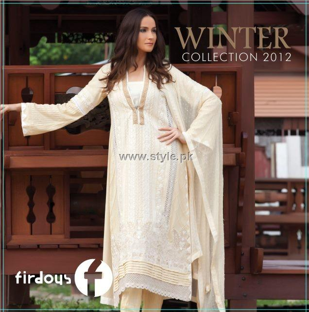 Firdous Winter Collection 2012 for Women