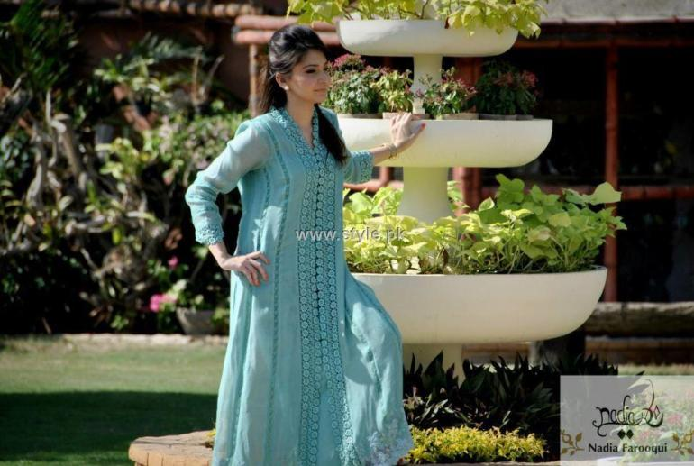 Nadia Farooqui Party Dresses 2012 for Women