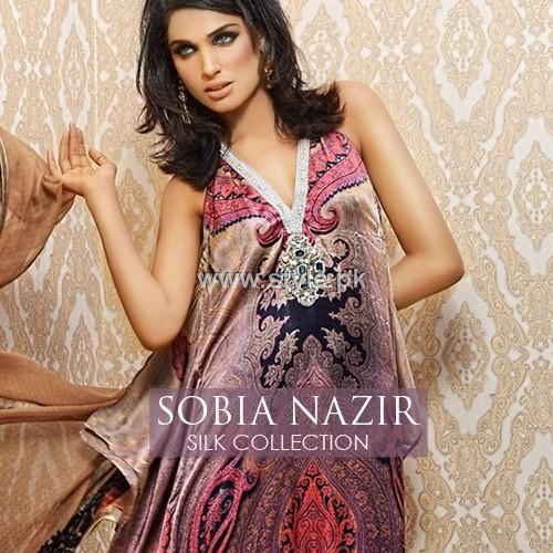 Sobia Nazir Silk Collection 2012 for Women