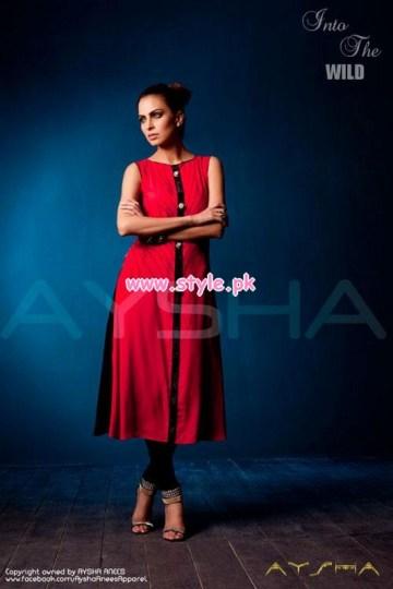 Aysha Anees Latest Winter Dresses For Girls 2012-13 007