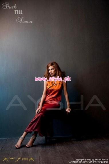 Aysha Anees Latest Winter Dresses For Girls 2012-13 008