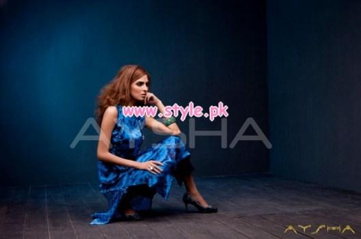 Aysha Anees Latest Winter Dresses For Girls 2012-13 010