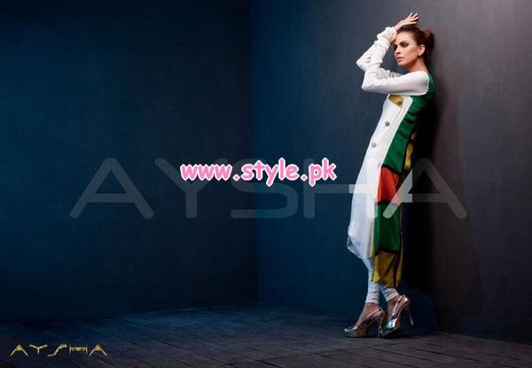 Aysha Anees Latest Winter Dresses For Girls 2012-13 012