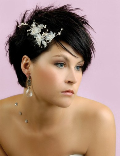 Bridal Hairstyles For Short Hair 0014