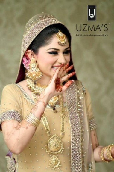Bridal Makeover By Uzma Bridal Salon 0011