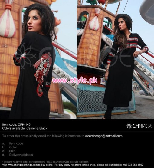 Change Latest Party Dresses For Winter 2012 001