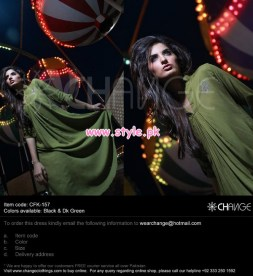 Change Latest Party Dresses For Winter 2012 002